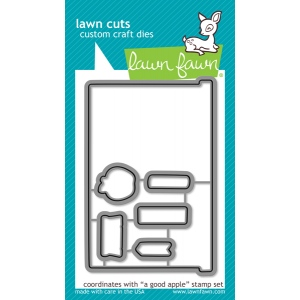 Lawn Fawn - Lawn Cuts - A Good Apple Dies