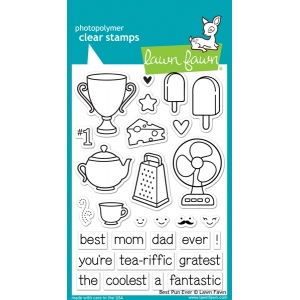 Lawn Fawn - Best Pun Ever Stamp Set