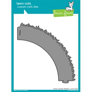 Lawn Fawn - Lawn Cuts - Grassy Cupcake Wrapper Die