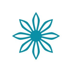 Couture Creations - Intricutz - Kalini - Sharp Flower Dies