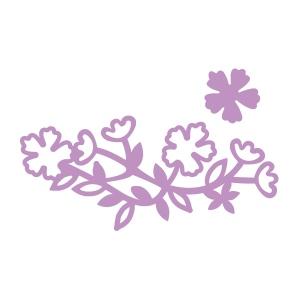 Couture Creations - Intricutz - Secret Garden - Short Basket Flowers Dies