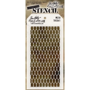 Stampers Anonymous - Tim Holtz - Stencil - Mesh
