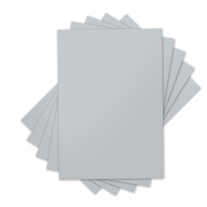 Sizzix - Inksheets - 4x6 Transfer Film - 5 Silver Sheets