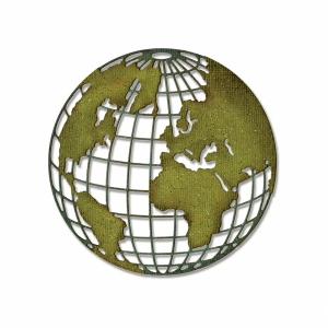 Sizzix - Tim Holtz Alterations - Thinlits Die - Globe