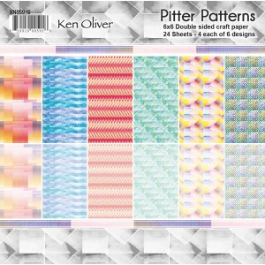 Ken Oliver - Pitter Patterns - Paper Pack - 6x6