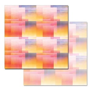 Ken Oliver - Pitter Patterns - Sunset Palette 12x12 Paper