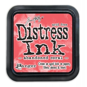 Tim Holtz - Distress - February Color Of The Month - Abandoned Coral - Distress Ink Pad