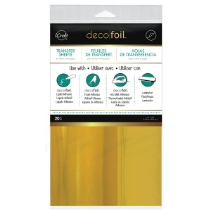 Thermoweb - iCraft - Deco Foil - Gold - 20 Sheets