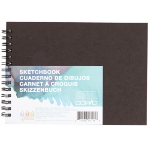 "Copic® 5""x7"" Marker Sketchbook 70lb/50 Sheets: Wire Bound, Pad, 50 Sheets, 5"" x 7"", Marker, 70 lb, (model SKBK5X7), price per each"