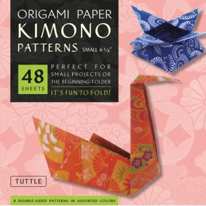 "Tuttle 6.75"" Origami Paper Kimono Patterns; Format: Sheet; Size: 6 3/4""; Type: Origami; (model T310403), price per pack"
