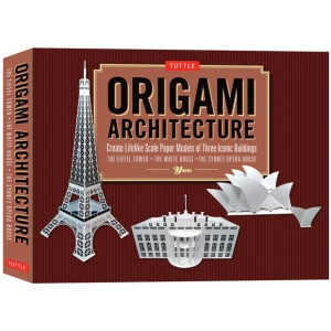 Tuttle Origami Architecture Kit: Origami, (model T312438), price per kit
