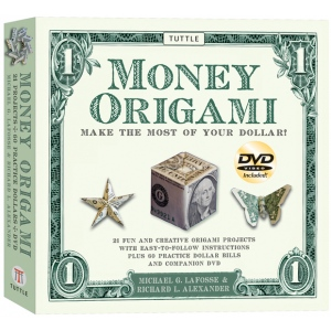 Tuttle Money Origami Kit: Origami, (model T840262), price per kit