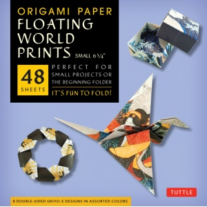 """Tuttle 6.75"""" Origami Paper Floating World; Format: Sheet; Size: 6 3/4""""; Type: Origami; (model T843409), price per pack"""