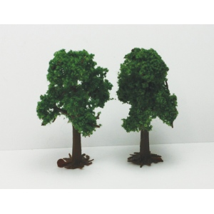 """Wee Scapes™ 3"""" & 4"""" Light Green Deciduous Trees 2-Pack : 2-Pack, 3"""" - 4"""", Tree, (model WS00390), price per 2-Pack"""