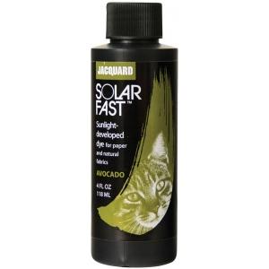 Jacquard SolarFast ™ Avocado Dye 4 oz; Color: Green; Format: Bottle; Size: 4 oz; Type: Sunlight-Developed; (model JSD1-110), price per each