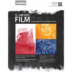 "Jacquard SolarFast ™ Film 8-Pack: 8 Sheets, 8 1/2"" x 11"", Film, (model JSD1000), price per 8 Sheets"
