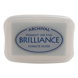 Tsukineko Brilliance Pads: Starlite Silver