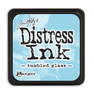 Tim Holtz - Distress Mini Ink Pad - Open Stock - Tumbled Glass