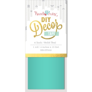 Hazel & Ruby - Decor Tape - Teal - 4 inch