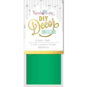 Hazel & Ruby - Decor Tape - Jade - 4 inch