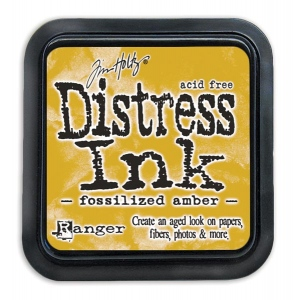 Tim Holtz - Distress - April Color Of The Month - Fossilized Amber - Distress Ink Pad