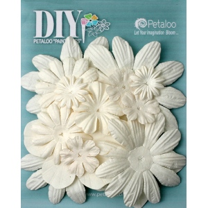 Petaloo - DIY Paintables - Assorted Flower Layers x 16