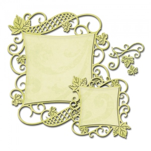 Spellbinders - Nestabilities - Decorative Curved Square Dies
