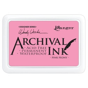 Ranger - Wendy Vecchi - Archival Ink Pads #0 - Pink Peony