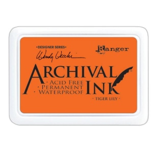 Ranger - Wendy Vecchi - Archival Ink Pads #0 - Tiger Lily