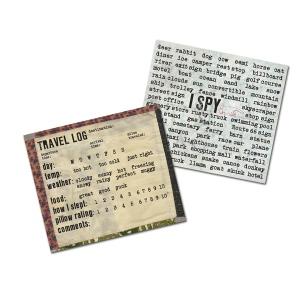 7Gypsies - Gypsy Moments Cards - Travel Log - 3.5x4