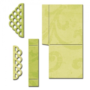 Spellbinders - Shapeabilities - Scalloped Pop Up Box Dies