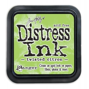 Tim Holtz - Distress - May Color Of The Month - Twisted Citron - Distress Ink Pad