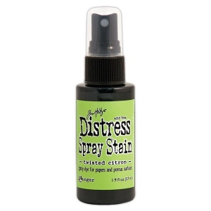 Tim Holtz - Distress - May Color Of The Month - Twisted Citron - Distress Spray Stain