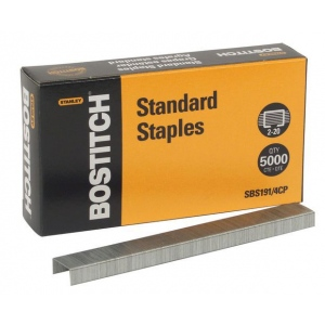 Stanley® Staples; Refill: Yes; (model SBS191), price per box