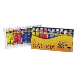 Winsor & Newton™ Galeria™ Acrylic 10-Color Set; Color: Multi; Format: Tube; Size: 20 ml; Type: Acrylic; (model 2190525), price per set