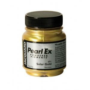 Pearl Ex Gold Powdered Pigment .5oz; Color: Metallic; Format: Jar; Size: .5 oz; (model J691), price per each