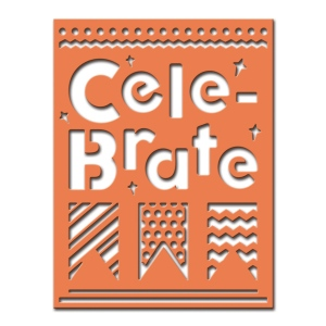 Spellbinders - Celebra'tions - Cele-brate Plate Dies