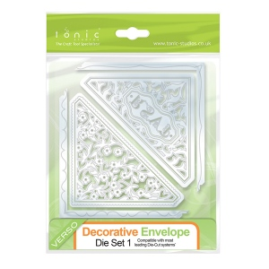 Tonic Studios - Decorative Envelope Die Set 2