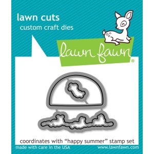 Lawn Fawn - Lawn Cuts - Happy Summer Dies