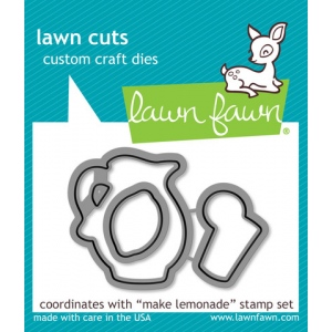 Lawn Fawn - Lawn Cuts - Make Lemonade Dies