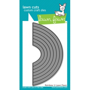 Lawn Fawn - Lawn Cuts - Rainbow Die