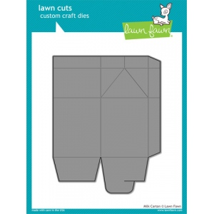 Lawn Fawn - Lawn Cuts - Milk Carton Die