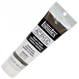 Liquitex® Professional Series Heavy Body Color 4.65oz Mars Black; Color: Black/Gray; Format: Tube; Size: 138 ml; Type: Acrylic; (model 1047276), price per tube