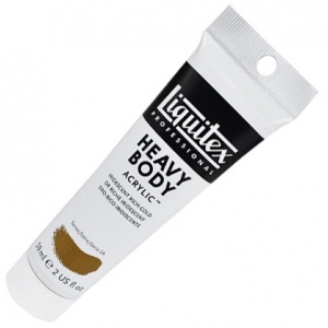 Liquitex® Professional Series Heavy Body Iridescent Color Rich Gold; Color: Metallic; Format: Tube; Size: 59 ml; Type: Acrylic; (model 1045235), price per tube
