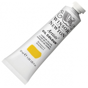 Winsor & Newton™ Artists' Oil Color 37ml Cadmium Yellow; Color: Yellow; Format: Tube; Size: 37 ml; Type: Oil; (model 1214108), price per tube