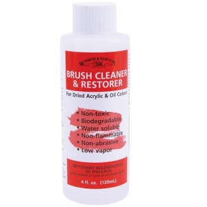 Winsor & Newton Brush Cleaner and Restorer: 16 oz.