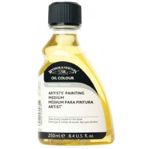 Winsor & Newton Artists' Painting Medium: 250ml USA