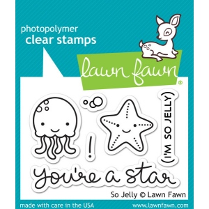 Lawn Fawn - So Jelly Stamp Set