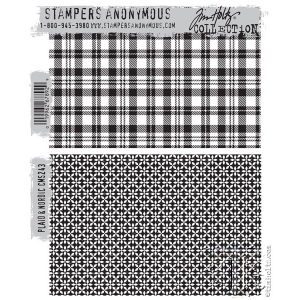 Stampers Anonymous - Tim Holtz - Plaid & Nordic Stamp Set