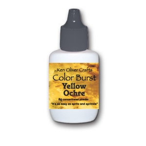 Ken Oliver - Color Burst - Yellow Ochre